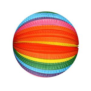 Balão Papel Riscas 25 cm
