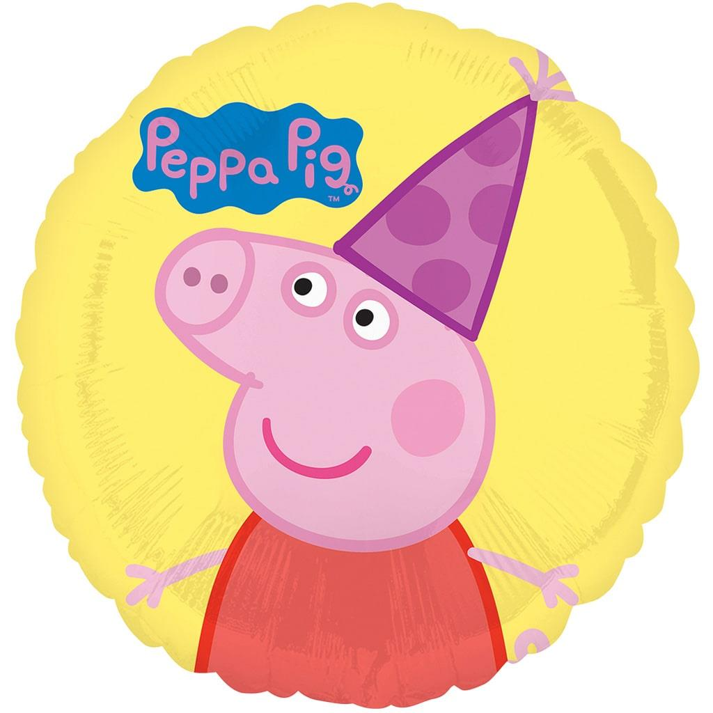 Balão Peppa Pig Foil, 43 cm