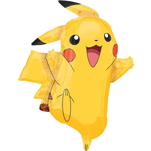 Balão Pikachu SuperShape, 78 cm