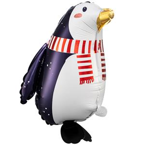 Balão Pinguim Amoroso Foil, 42 cm