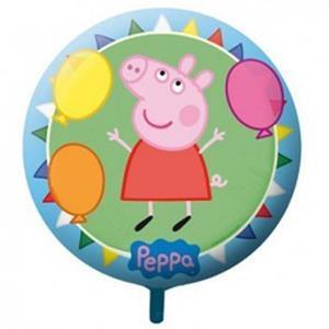 Balão Porquinha Peppa Pig Foil, 23 cm