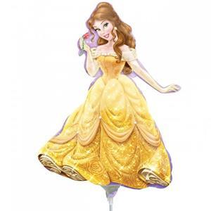 Balão Princesa Bela Disney Mini Shape Foil, 40 cm