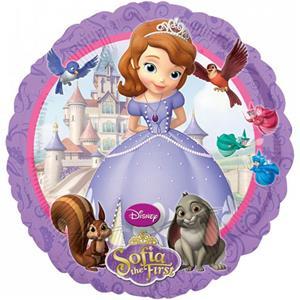 Balão Princesa Sofia Disney Foil, 45 cm