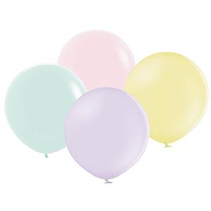 Balão Redondo Pastel, 60 Cm