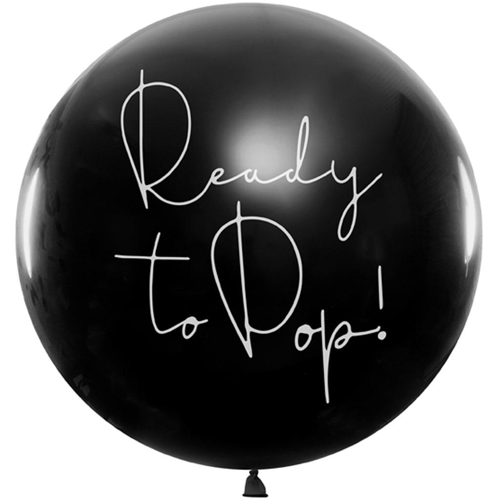 Balão Revelação Ready To Pop Girl, 1 mt