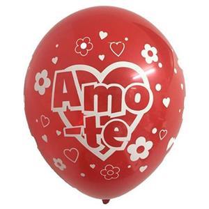 """Balão São Valentim """"Amo-te"""", unid."""