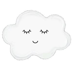 Balão Foil Supershape Nuvem, 76 Cm