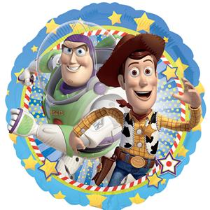 Balão Toy Story Foil Metalizado, 43 Cm