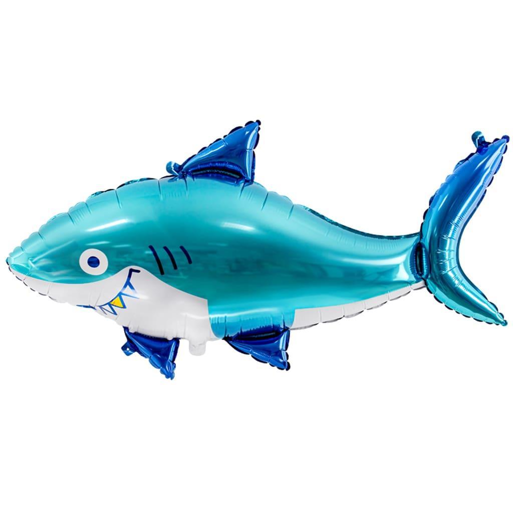 Balão Tubarão Foil, 92 cm
