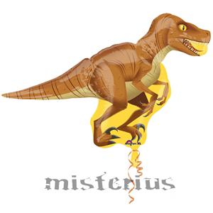 Balão Velociraptor Foil UltraShape