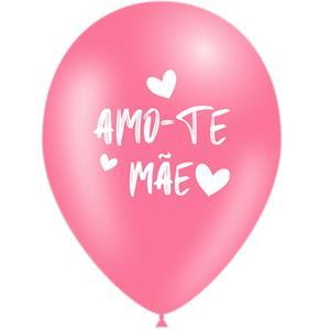 Balões Amo-te Mãe Látex, 5 unid.