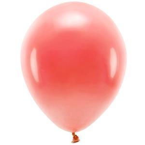 Balões Coral Pastel Eco Látex, 26 cm, 10 unid.