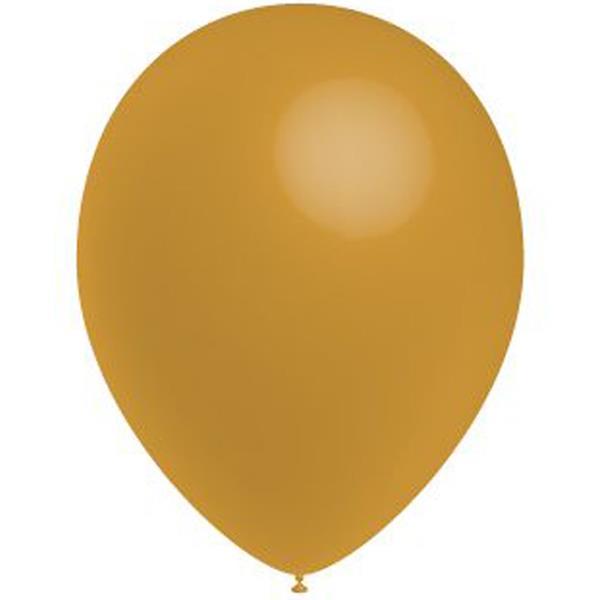 Balões Dourado Látex, 100 unid