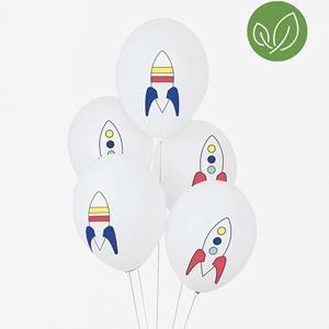 Balões Foguetões Látex, 5 unid.