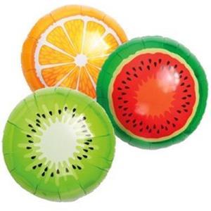 Balões Frutas Tropicais Foil, 3 unid.