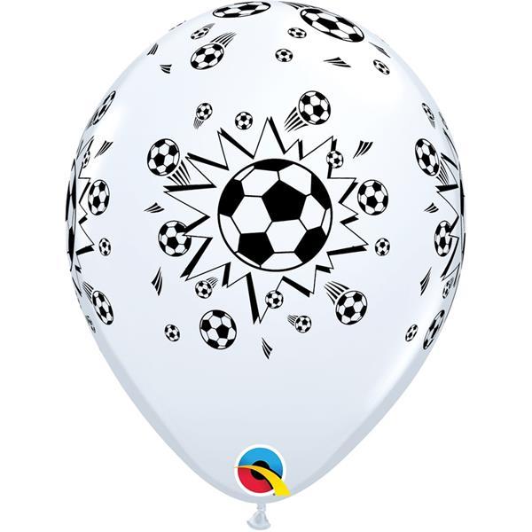 Balões Futebol Latex 6 Unid.