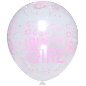 Balões Its a Girl Látex, 5 unid.
