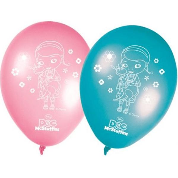 Balões Latex Dra. Brinquedos 8Un