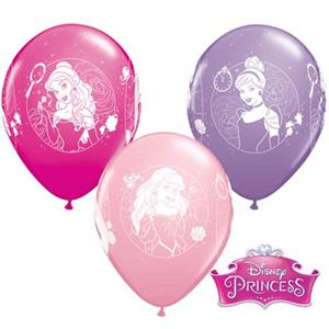 Balões Latex Princesas,6unid