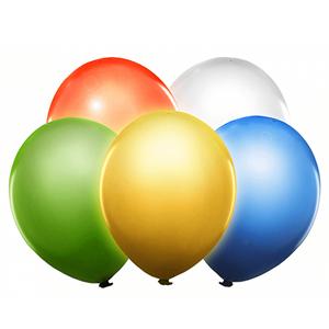 Balões Led Coloridos, 5 unid.