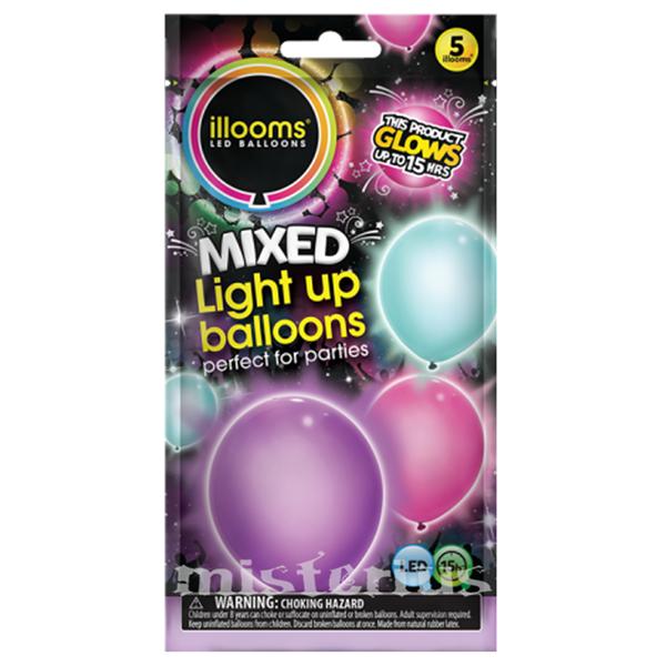 Balões Led Girlie 5 un
