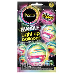 Balões Led Marble 5 un