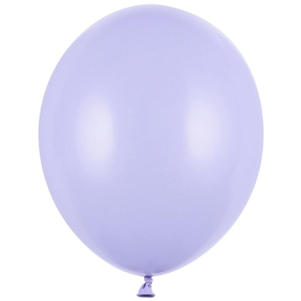 Balões Lilás Pastel Látex, 30 cm, 10 unid.