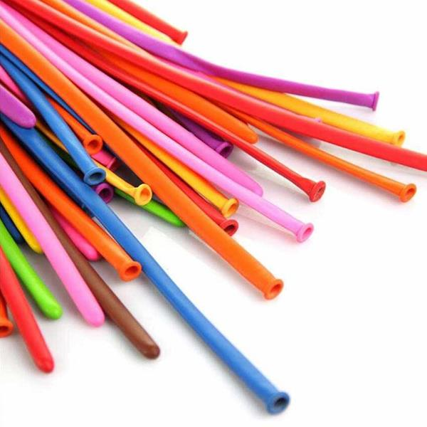 Balões Modelar Multicolor, 100 unid.