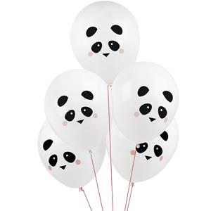 Balões Panda Amoroso Látex, 5 unid.