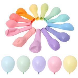 Balões Pastel Latex, 100 unid.