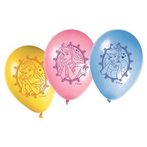 Balões Princesas 8 Unid.