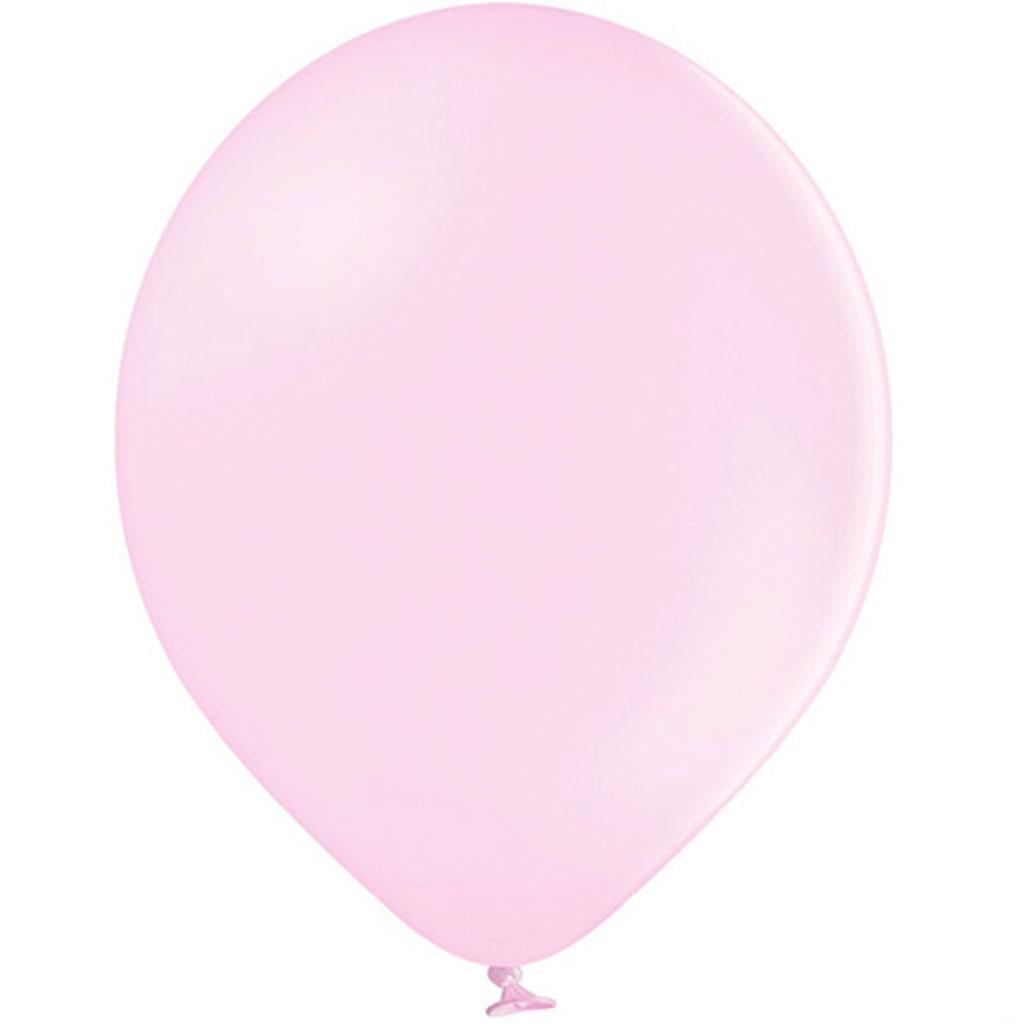 Balões Rosa Pastel Látex, 30 cm, 10 unid.