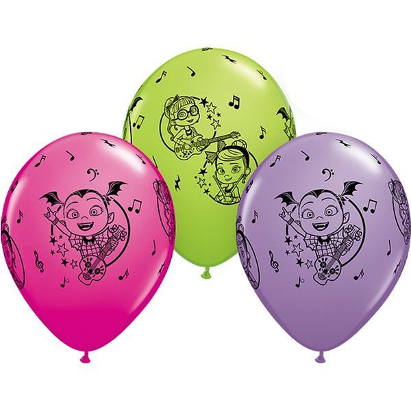 Balões Vampirina Látex, 6 unid.