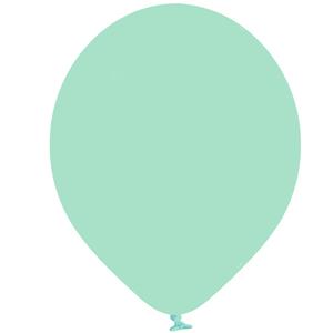 Balões Verde Menta Latex, 30 cm, 10 unid.