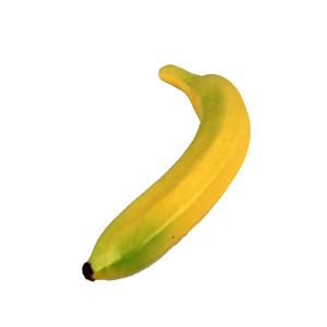 Banana falsa de plástico