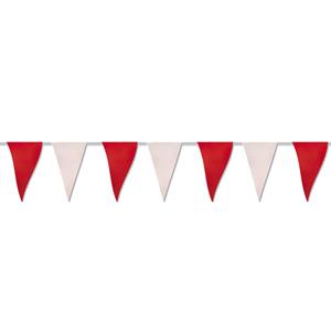 Bandeiras Vermelhas Brancas, 50 mt