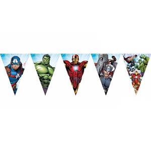 Bandeirolas Avengers, 230 cm
