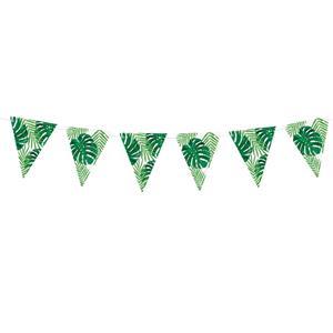 Bandeirolas Folhas Tropicais, 130 cm