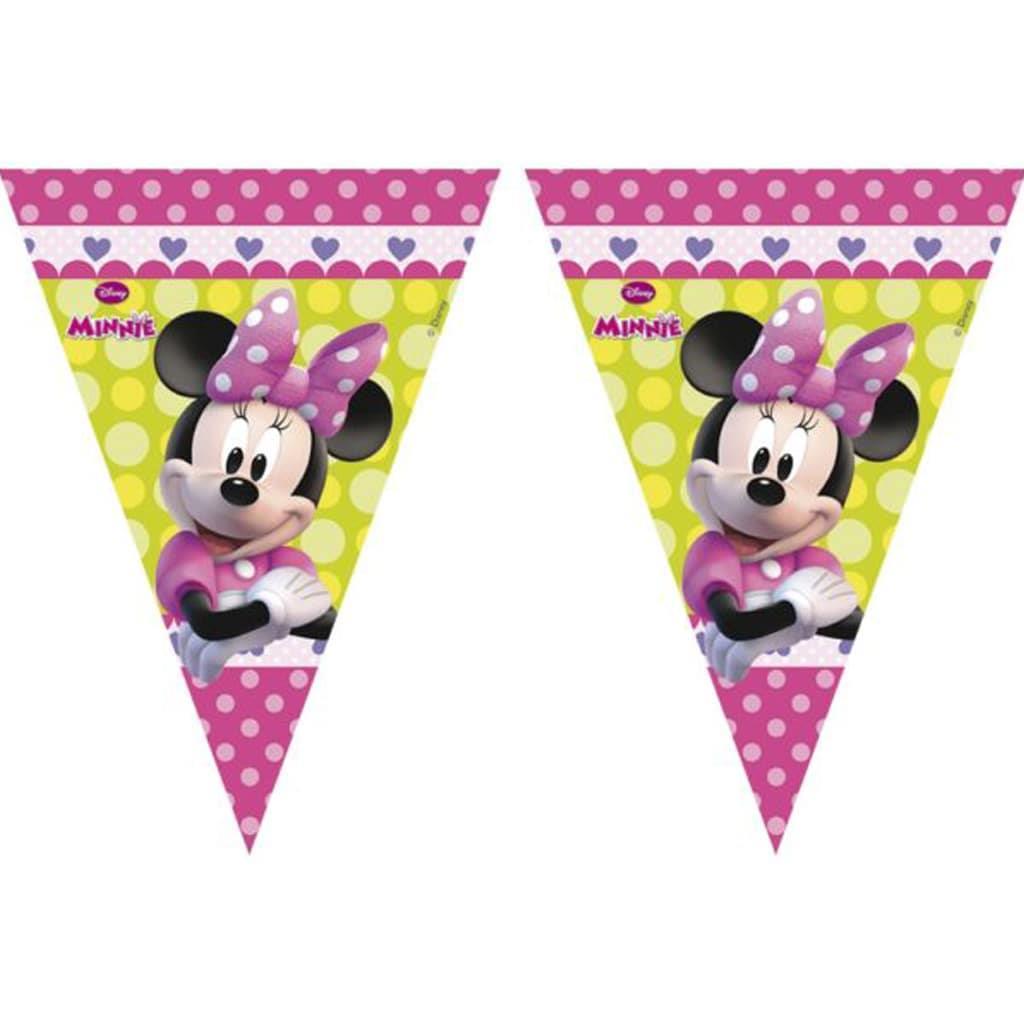 Bandeirolas Minnie Rosa, 230 Cm