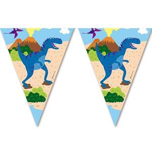 Bandeirolas Mundo dos Dinossauros, 3,60 mt