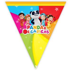 Bandeirolas Panda em Plástico, 350 cm