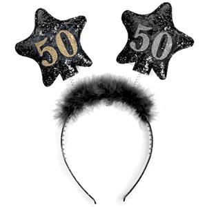 Bandolete 50 Anos com Estrelas Preta