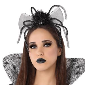 Bandolete Aranha Preta Halloween