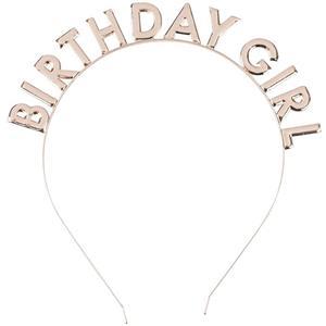 Bandolete Birthday Girl Rosa Gold