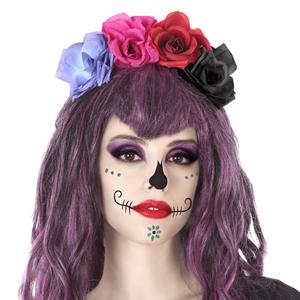 Bandolete Flores Dia dos Mortos