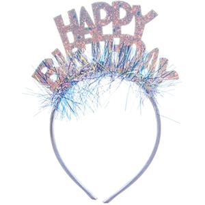 Bandolete Happy Birthday Iridescente