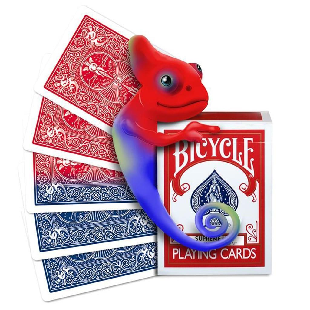 Baralho Bicycle Muda de Cor