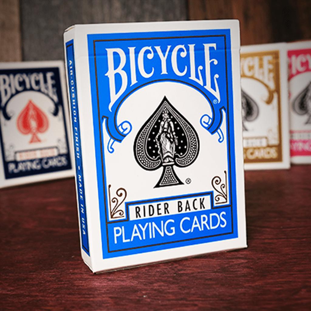 Baralho Bicycle Poker Azul Turquesa