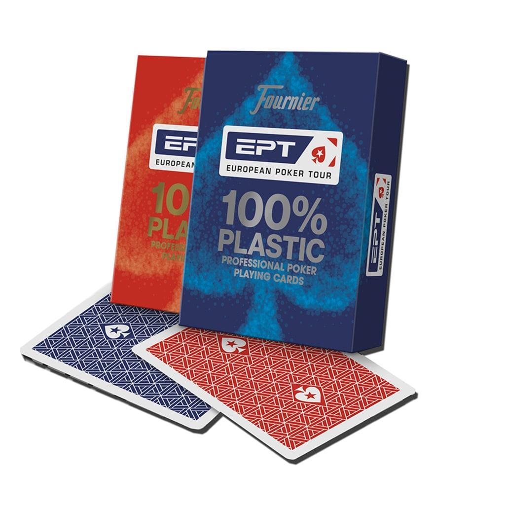 Baralho de Cartas 100% Pástico EPT