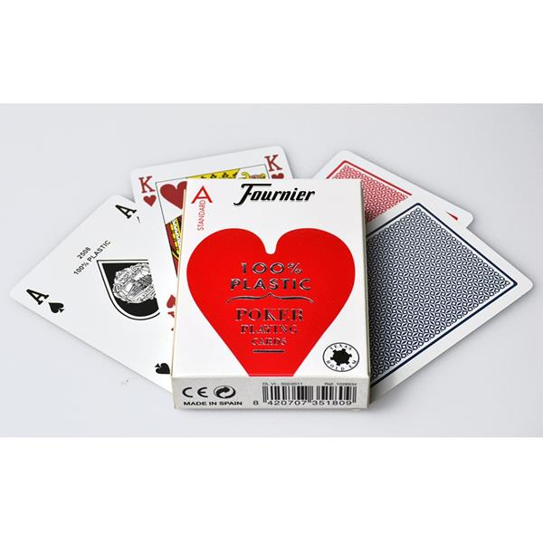 Baralho de Cartas 100% Plástico Fournier 2500